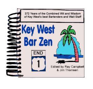 Bar Zen Key West Book