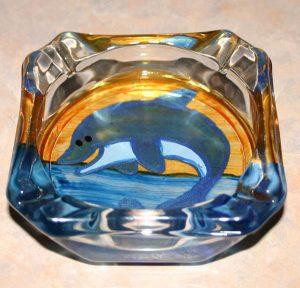 Dolphin Ash Tray
