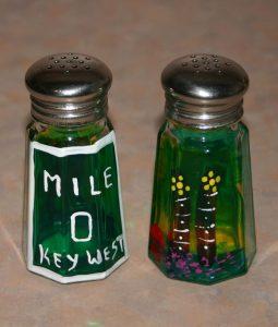 Mile Marker 0 Salt Shakers