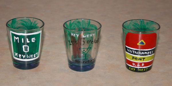 Key West Shot Glass