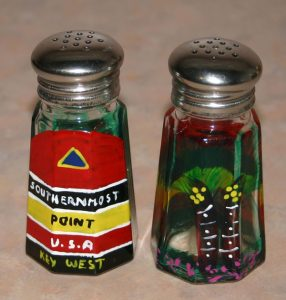 Southernmost Point Salt Shakers