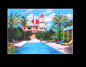 Southernmost House Print