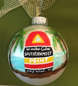 Southernmost Point Christmas Tree Ornament
