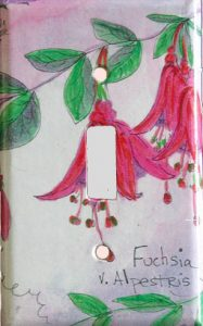 Floral Switch Plate Cover