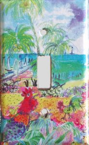 Ocean Switch Plate Cover