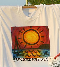Sunset Sail Tee Shirt