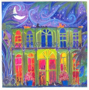 Hemingway House Tile Coaster