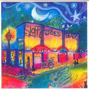 Sloppy Joe's Tile Coaster