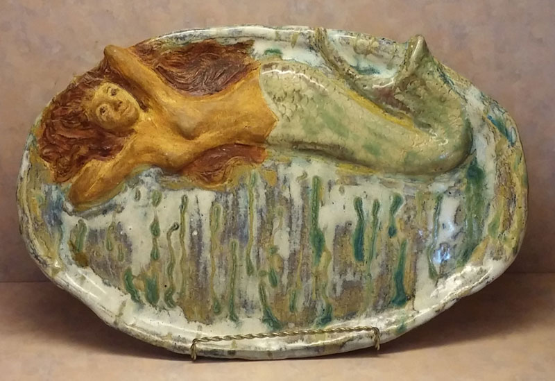 Mermaids Ceramic Platter