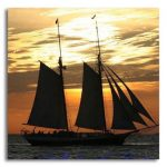 Sunset Schooner Photo