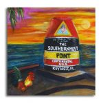 Southernmost Point Rooster Print