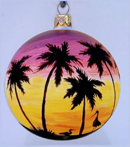 Key West Birds Christmas Ornament